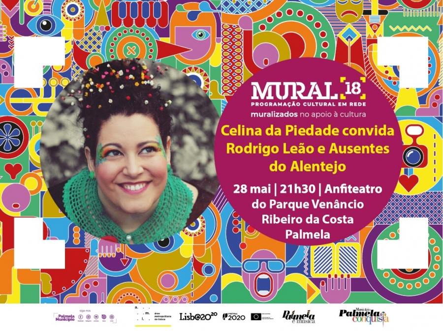 """Mural 18: Celina da Piedade convida Rodrigo Leão e """"Ausentes do ..."""