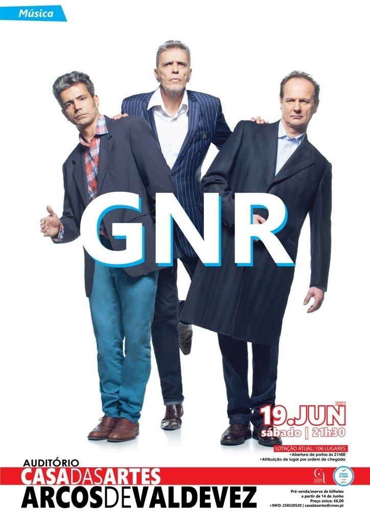 GNR ao vivo na Casa das Artes