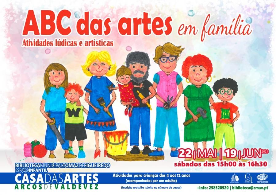 ABC das Artes em família