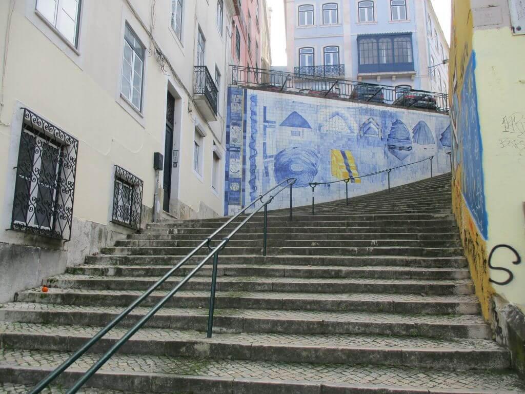 Circuito dos 4000 degraus de Lisboa