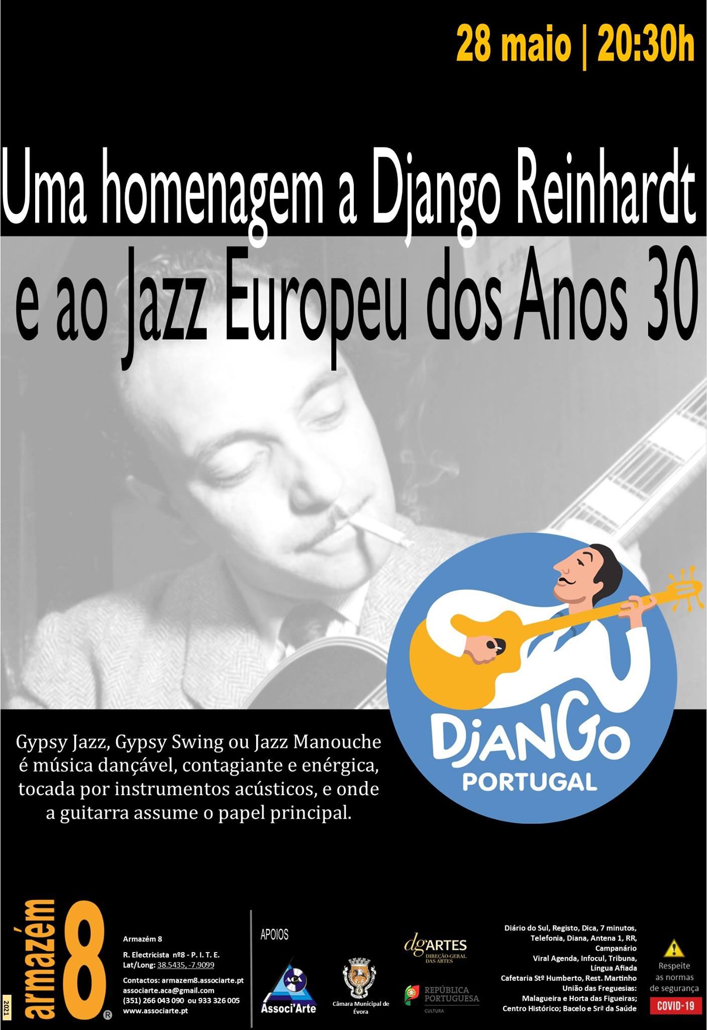 Homenagem à música de Django Reinhardt e ao Jazz Europeu dos Anos 30