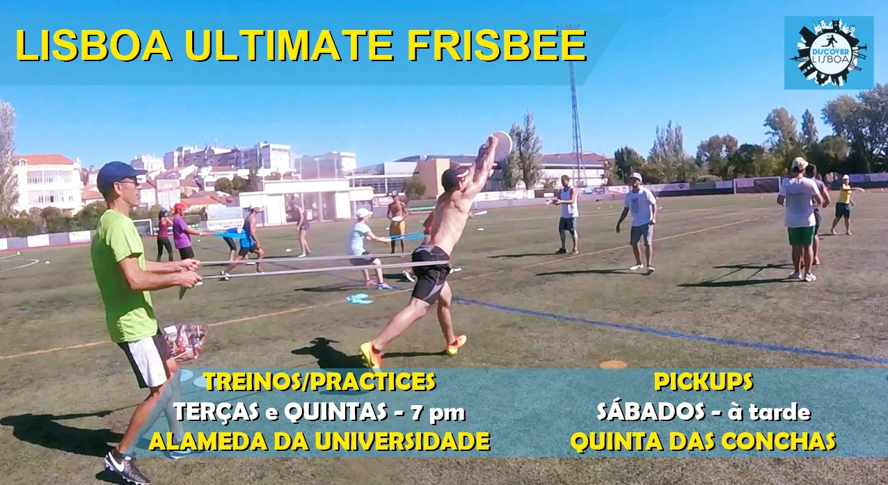Lisbon Ultimate Frisbee Training - 16 (2021)