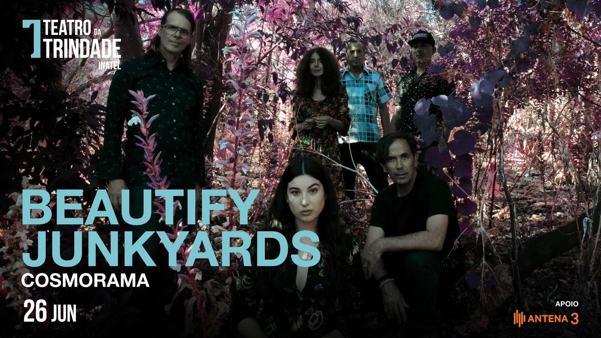 Beautify Junkyards - COSMORAMA no Teatro da Trindade