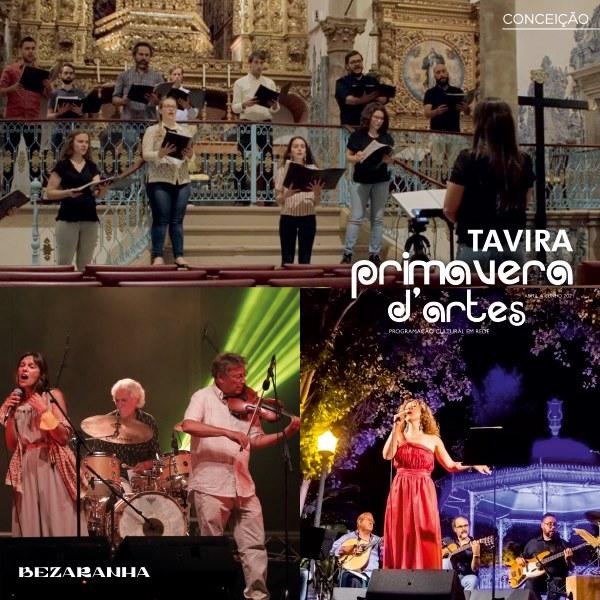 Tavira Primavera D'Artes - programação cultural em rede online | Conceição