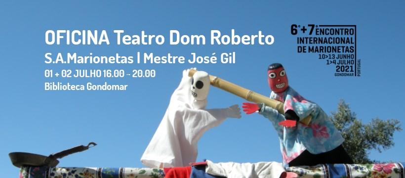 Teatro Dom Roberto | OFICINA DE MARIONETAS