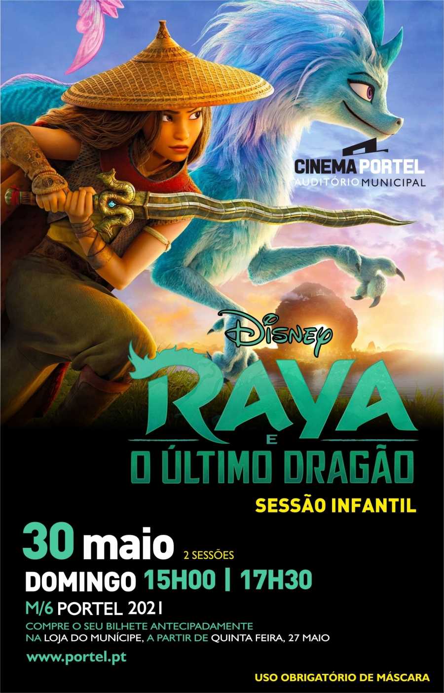 CINEMA: Raya e o último dragão