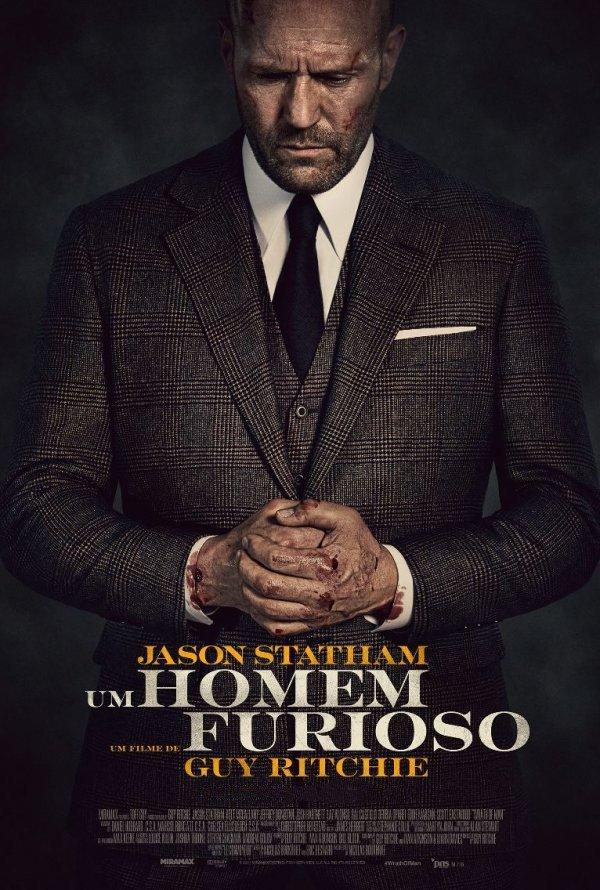 Exibição do filme 'Um Homem furioso'