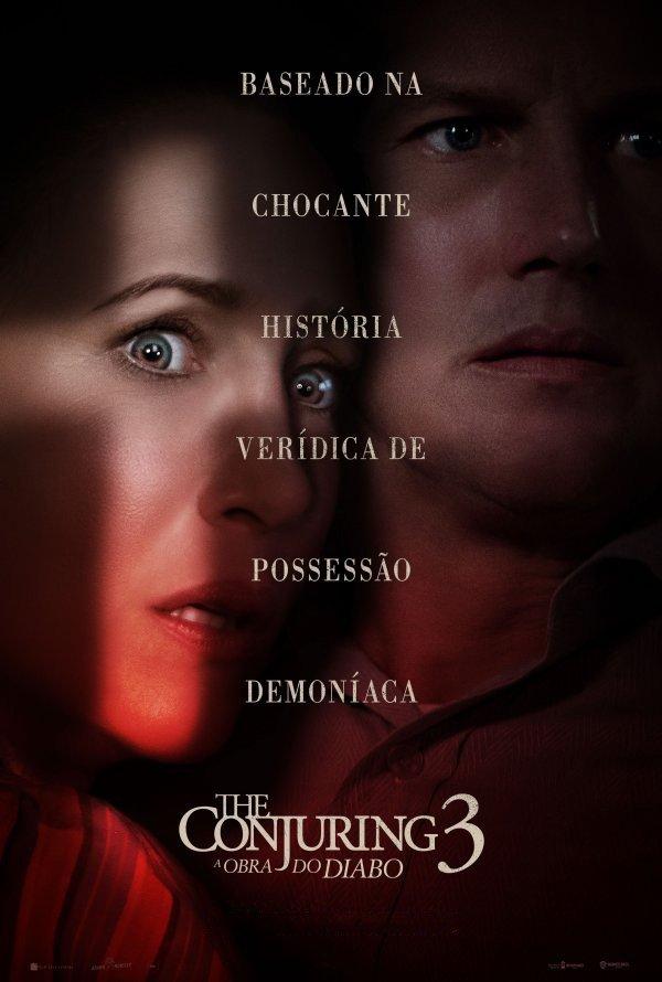 Exibição do filme 'The Conjuring 3: a obra do Diabo'