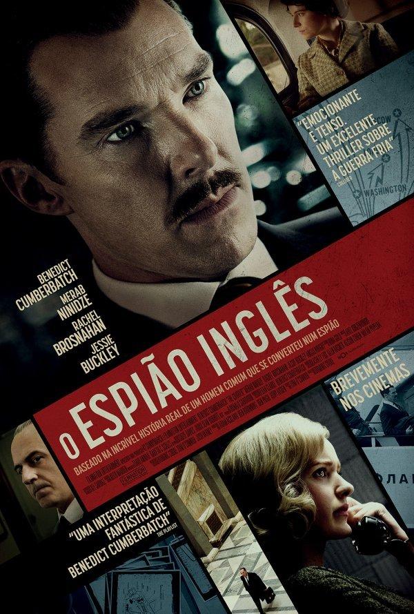 Exibição do filme 'O Espião Inglês'