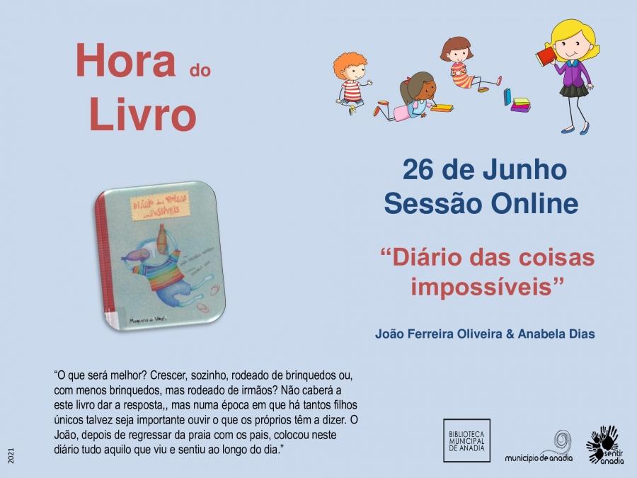 """Hora do Livro - """"Diário das coisas impossíveis"""""""