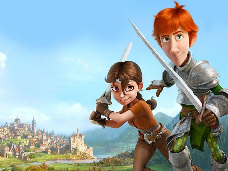 Cinema: Justin e a Espada da Coragem