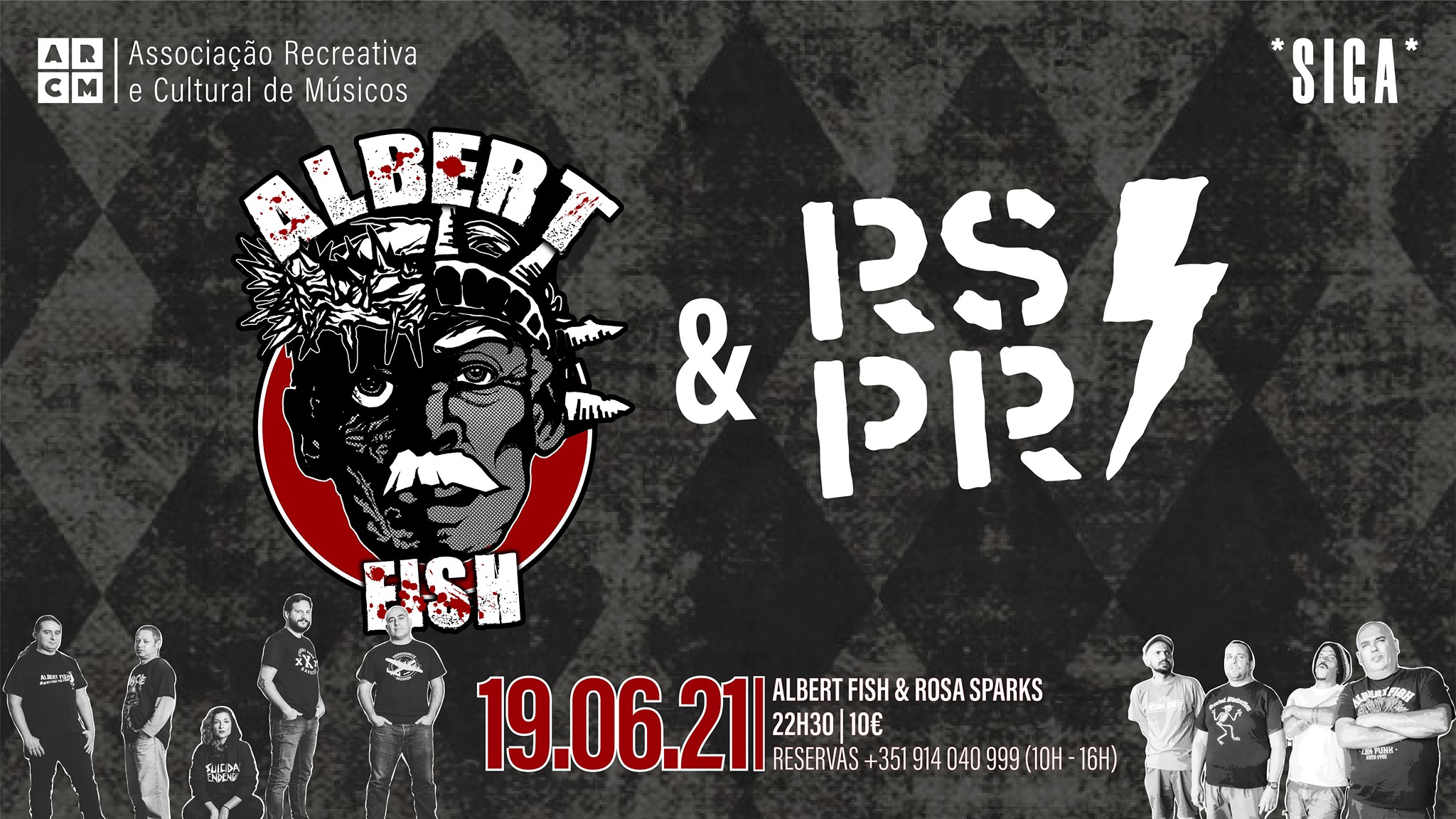 ALBERT FISH & ROSA SPARKS | *SIGA*