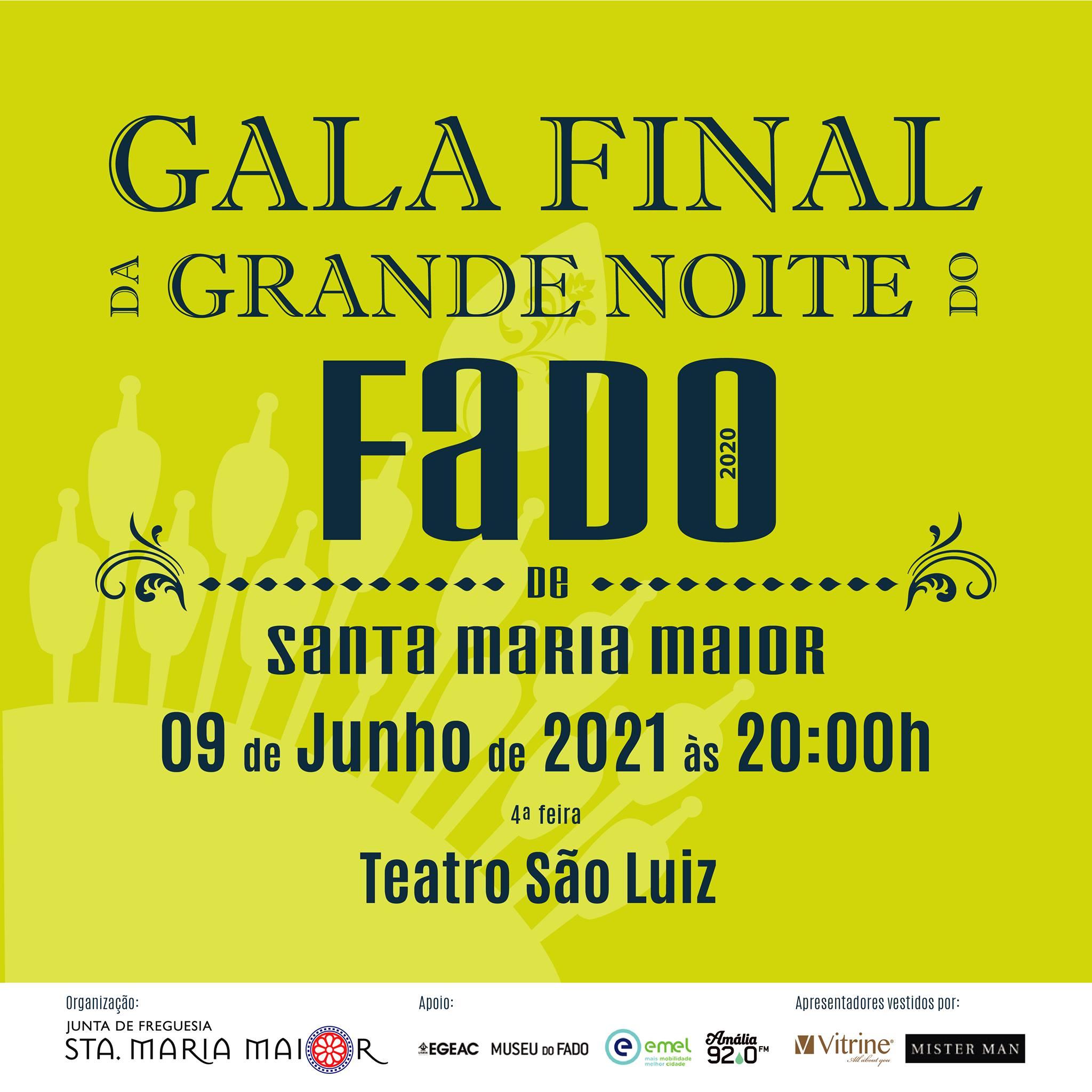 Gala Final | Grande Noite do Fado de Santa Maria Maior