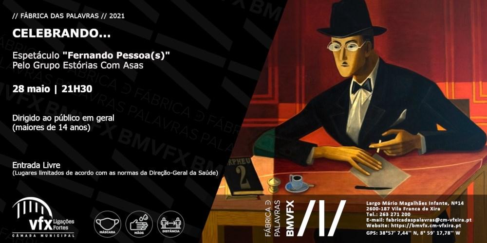 Espetáculo 'Fernando Pessoa(s)'