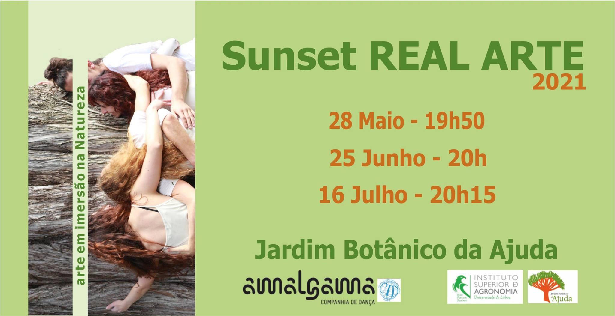 Espectáculo site specific REAL ARTE Sunset - Jardim Botânico da Ajuda
