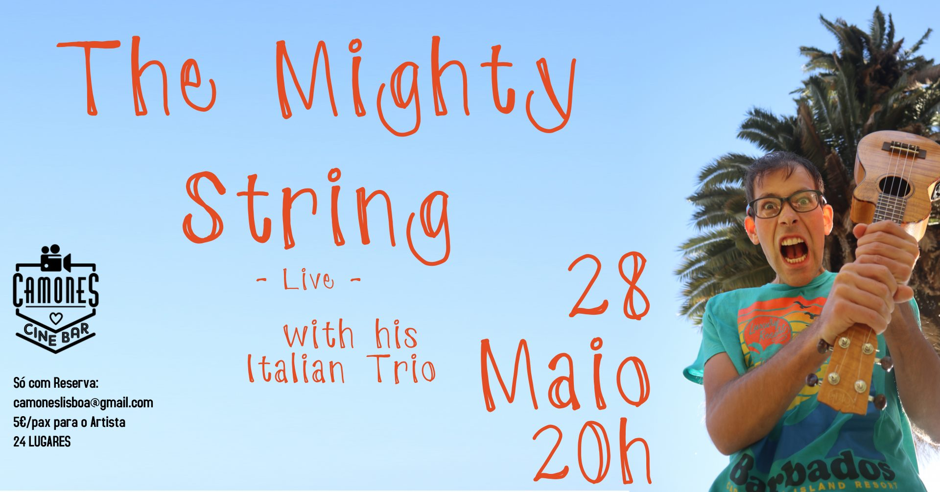 The Mighty String (with his Italian Trio)
