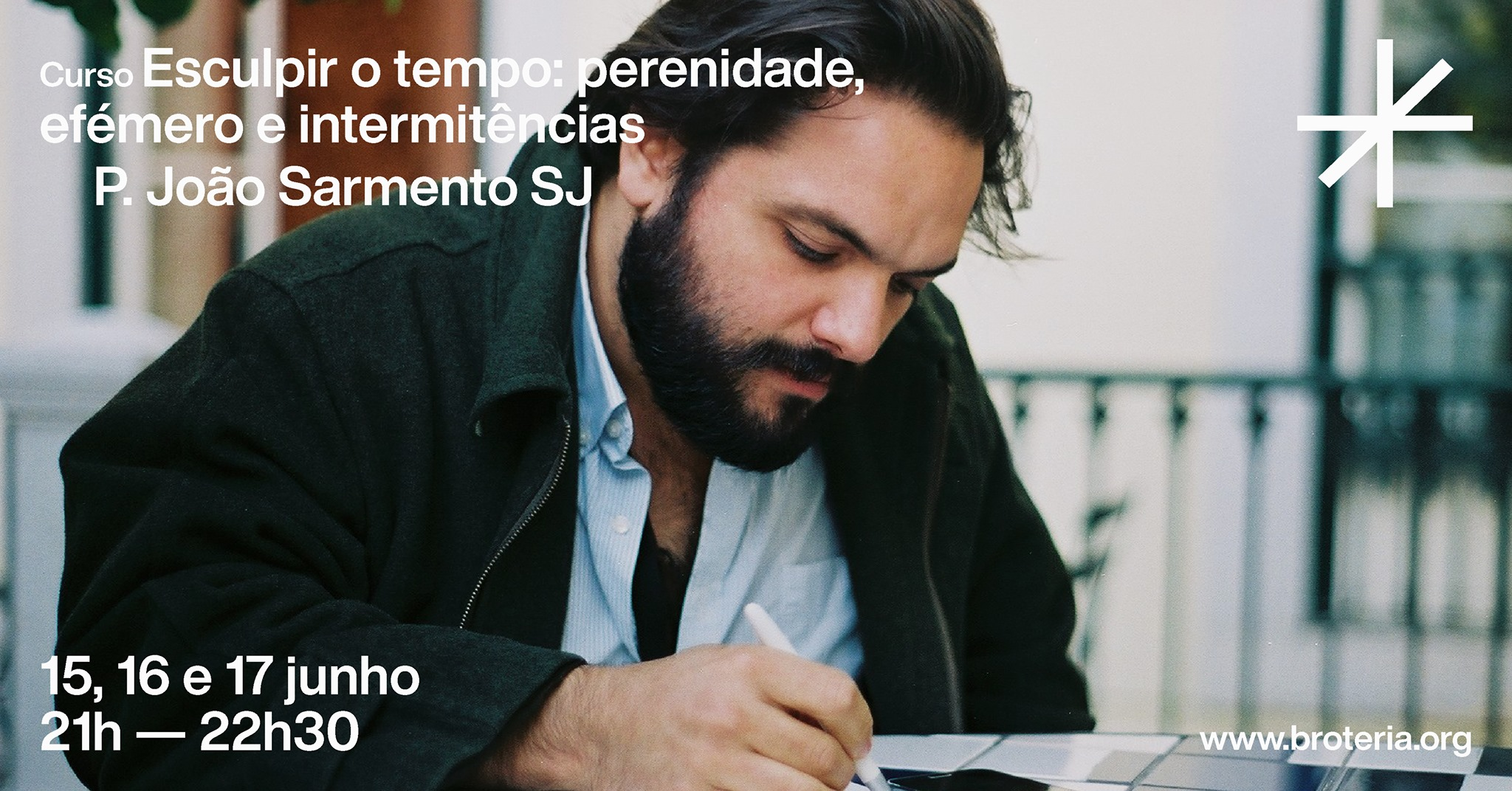 Curso   Esculpir o tempo, com P. João Sarmento SJ