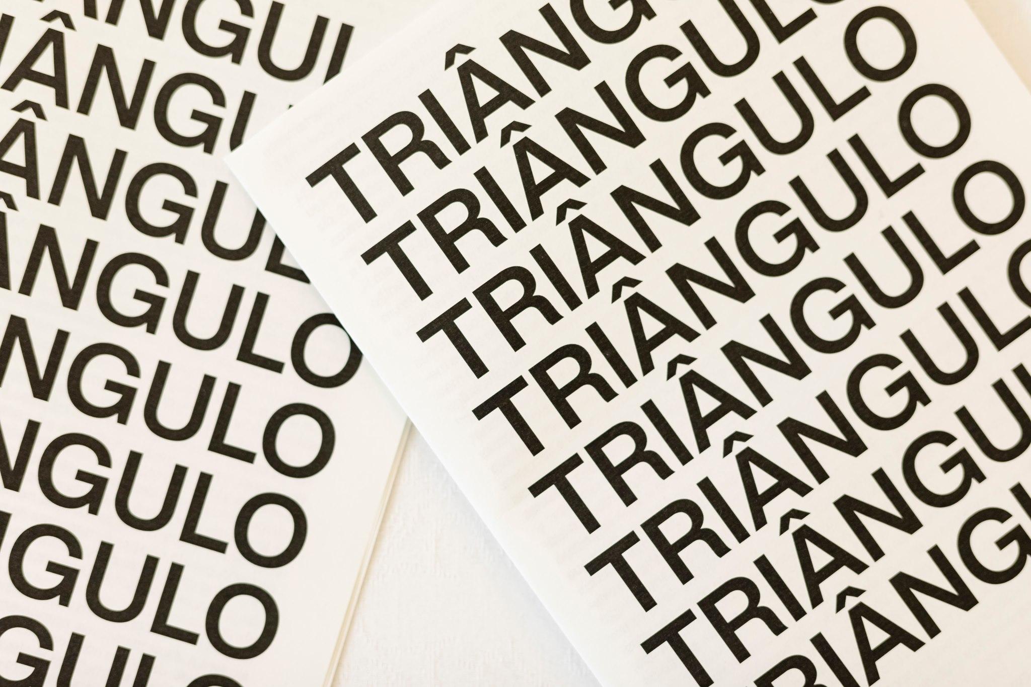 Finissage e lançamento do catálogo da exposição Triângulo