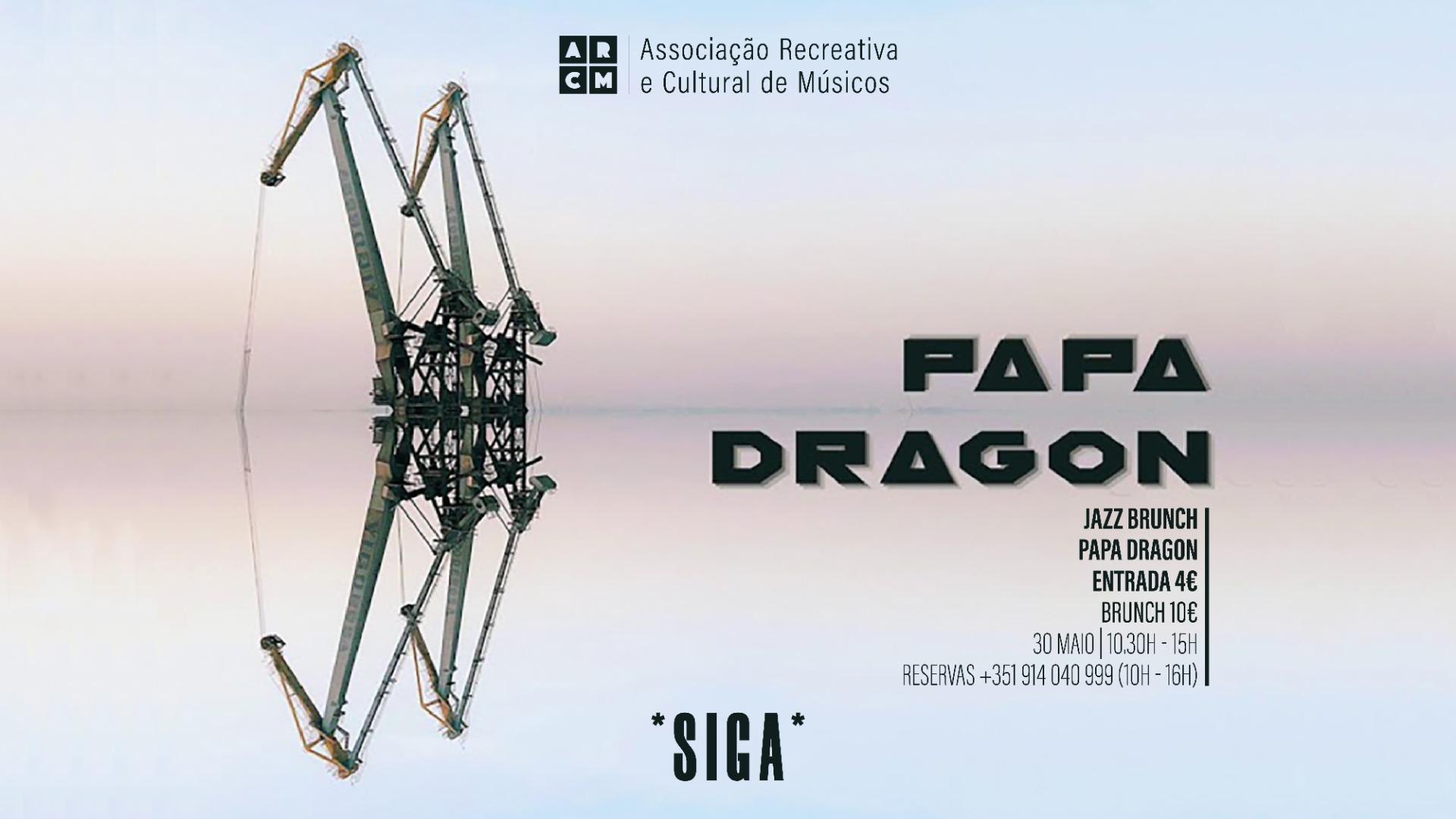 JAZZ BRUNCH - PAPA DRAGON   *SIGA*