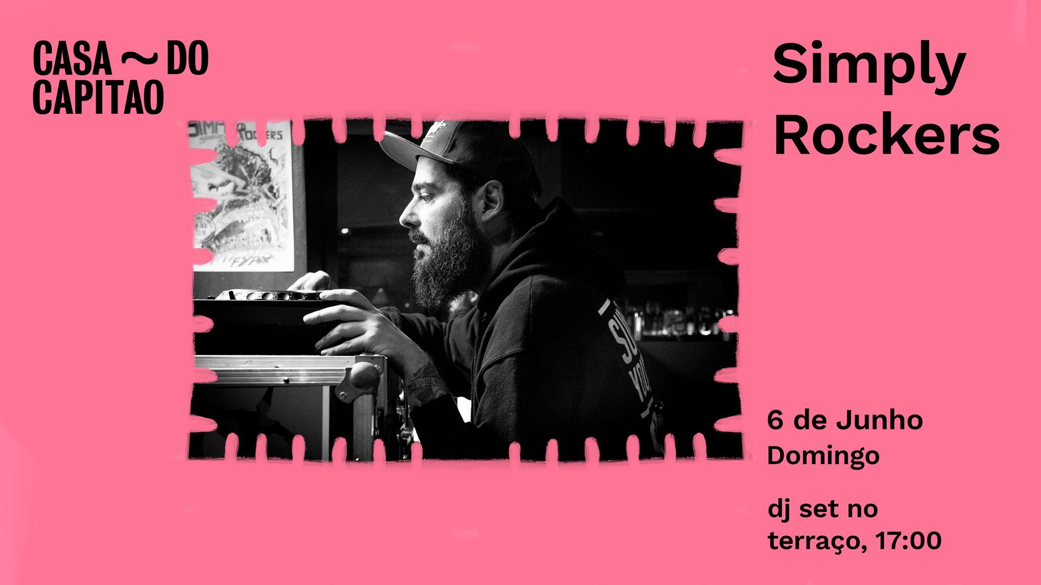 Simply Rockers • DJ set no terraço