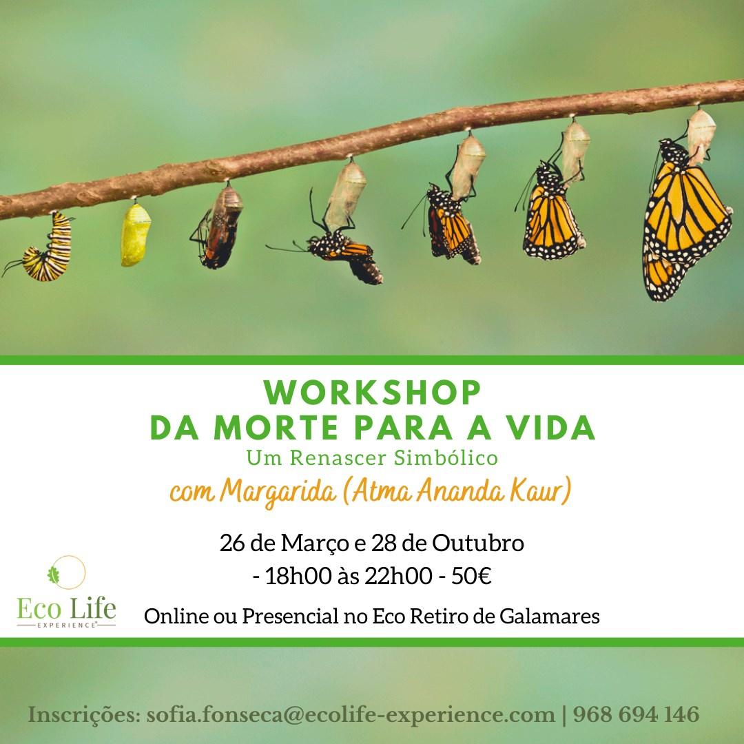 Workshop - Da Morte para a Vida - Um Renascer Simbólico