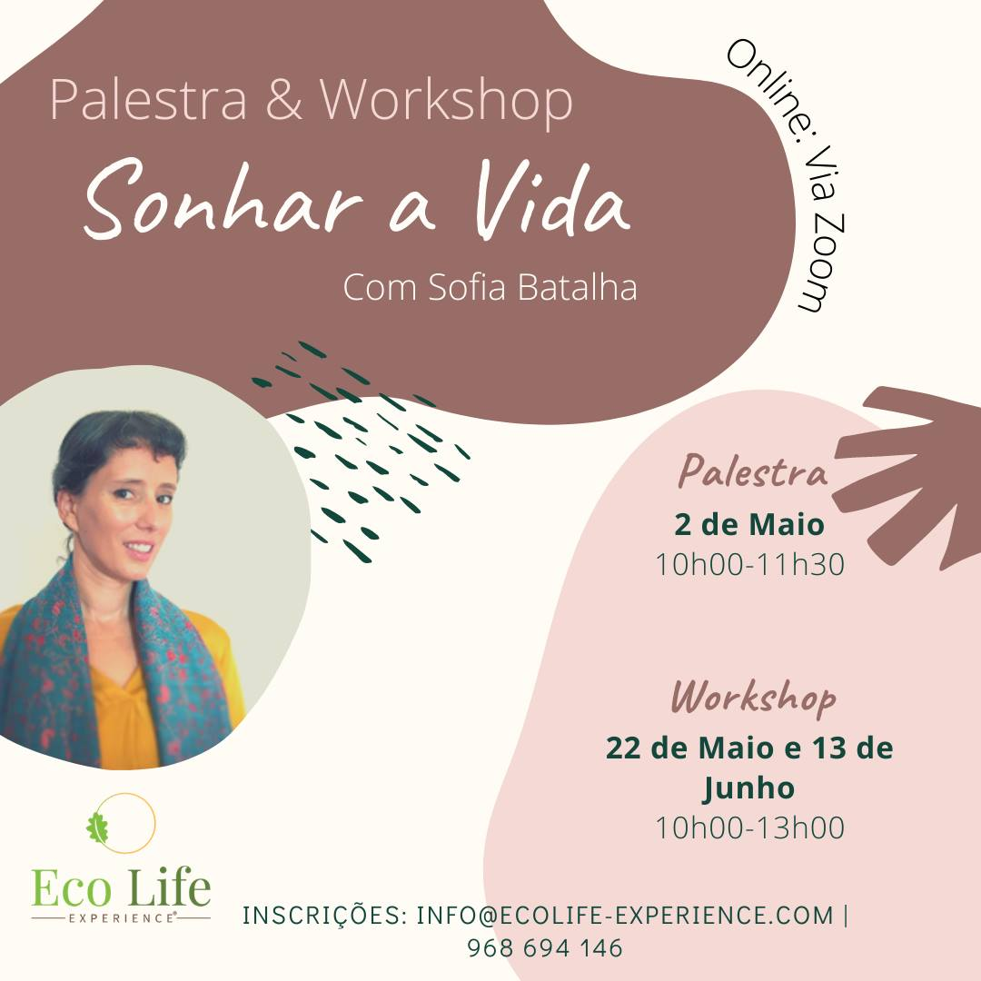 Workshop Sonhar a Vida Online com Sofia Batalha