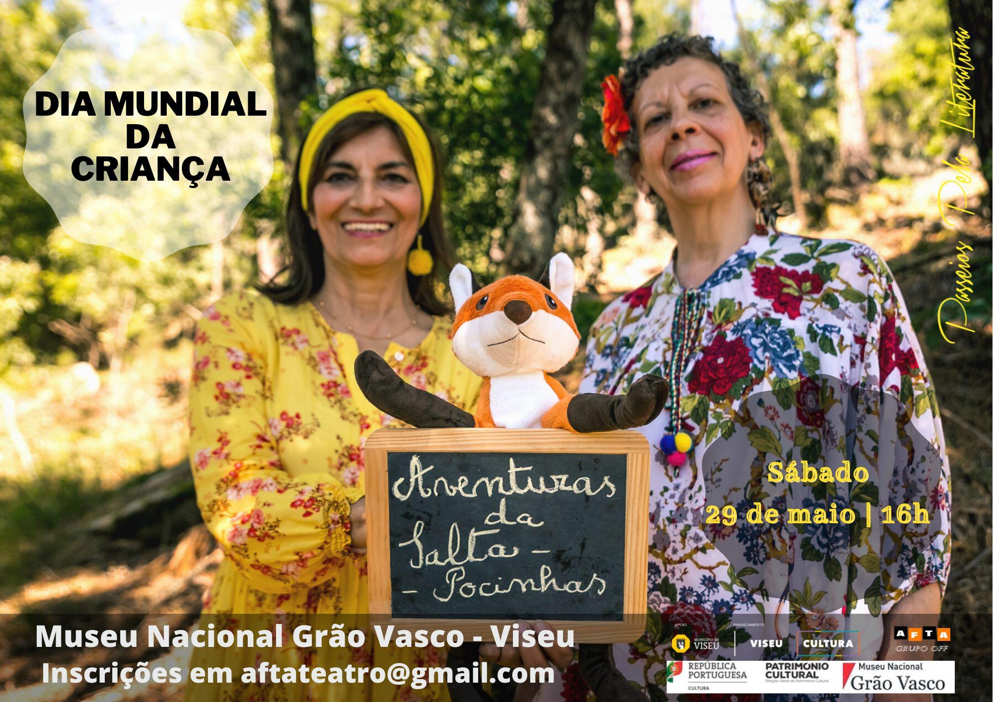 Comemoração dia da criança com as histórias de Salta-pocinhas