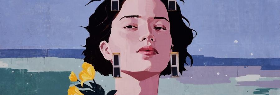 We Are The Flowers // Inauguração de Mural Arte Urbana
