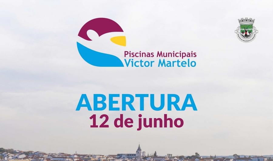 Abertura das Piscinas Municipais Victor Martelo a 12 de junho