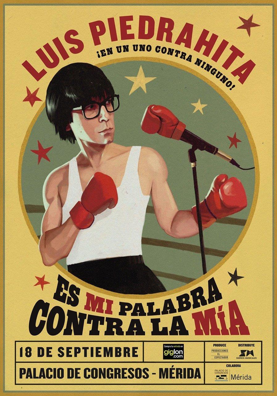 Luis Piedrahita 'Es mi palabra contra la mía'
