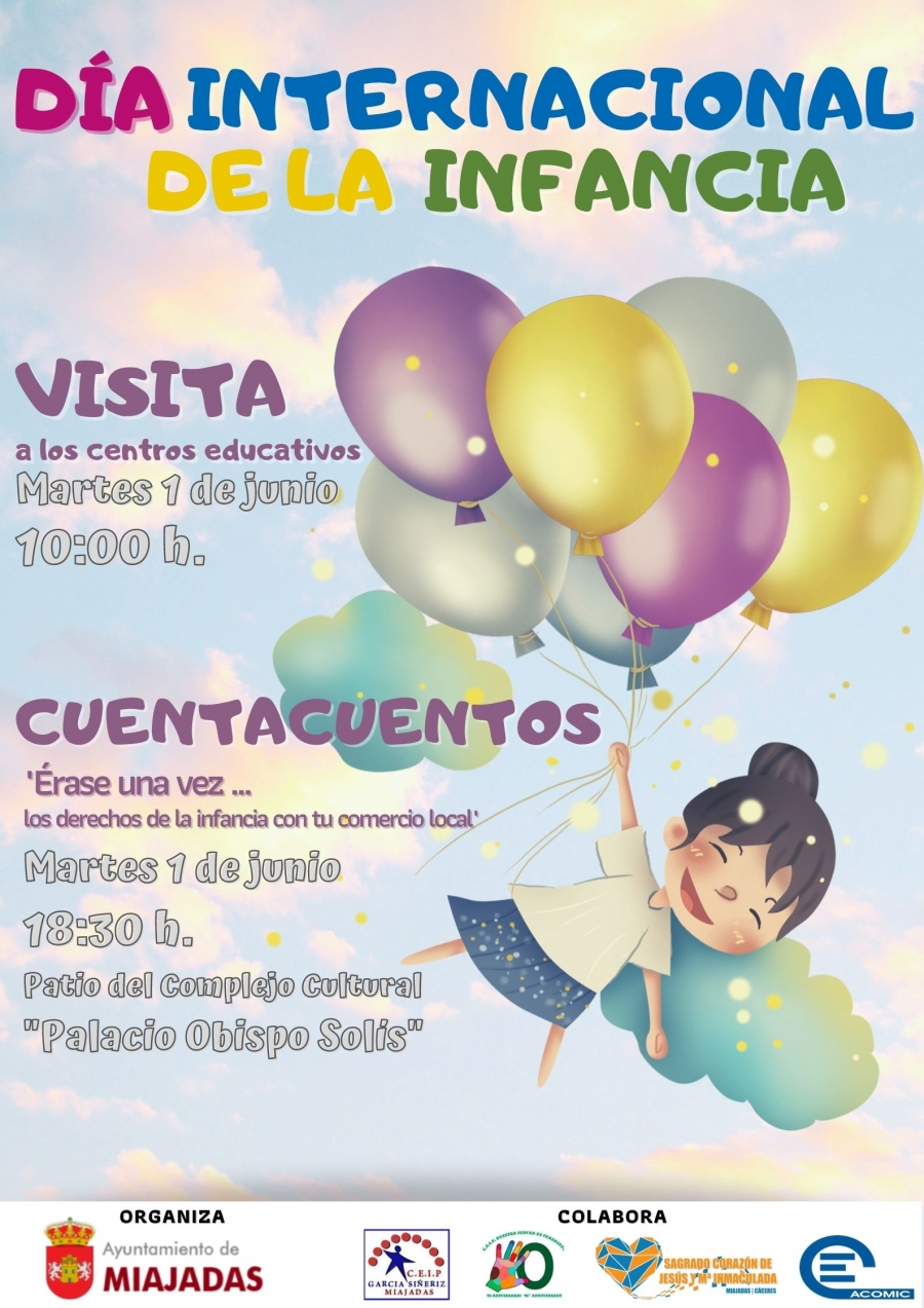 Actividad Lúdica Cuentacuentos. Día Internacional De La Infancia