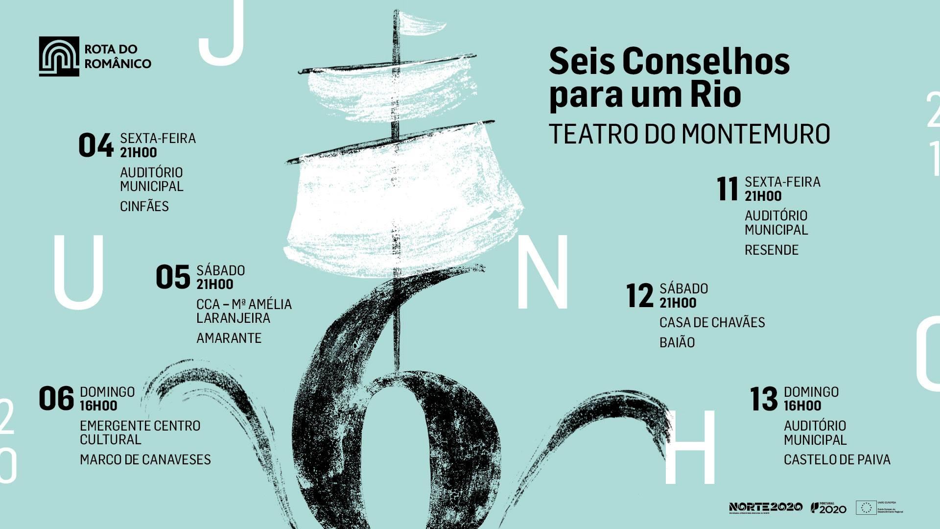 Cinfães   Seis Conselhos para um Rio   Teatro do Montemuro