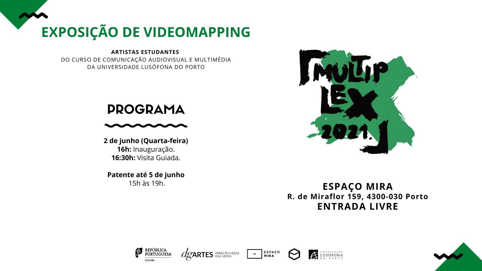 Inauguração_Exposição de Videomapping_CAM - ULP
