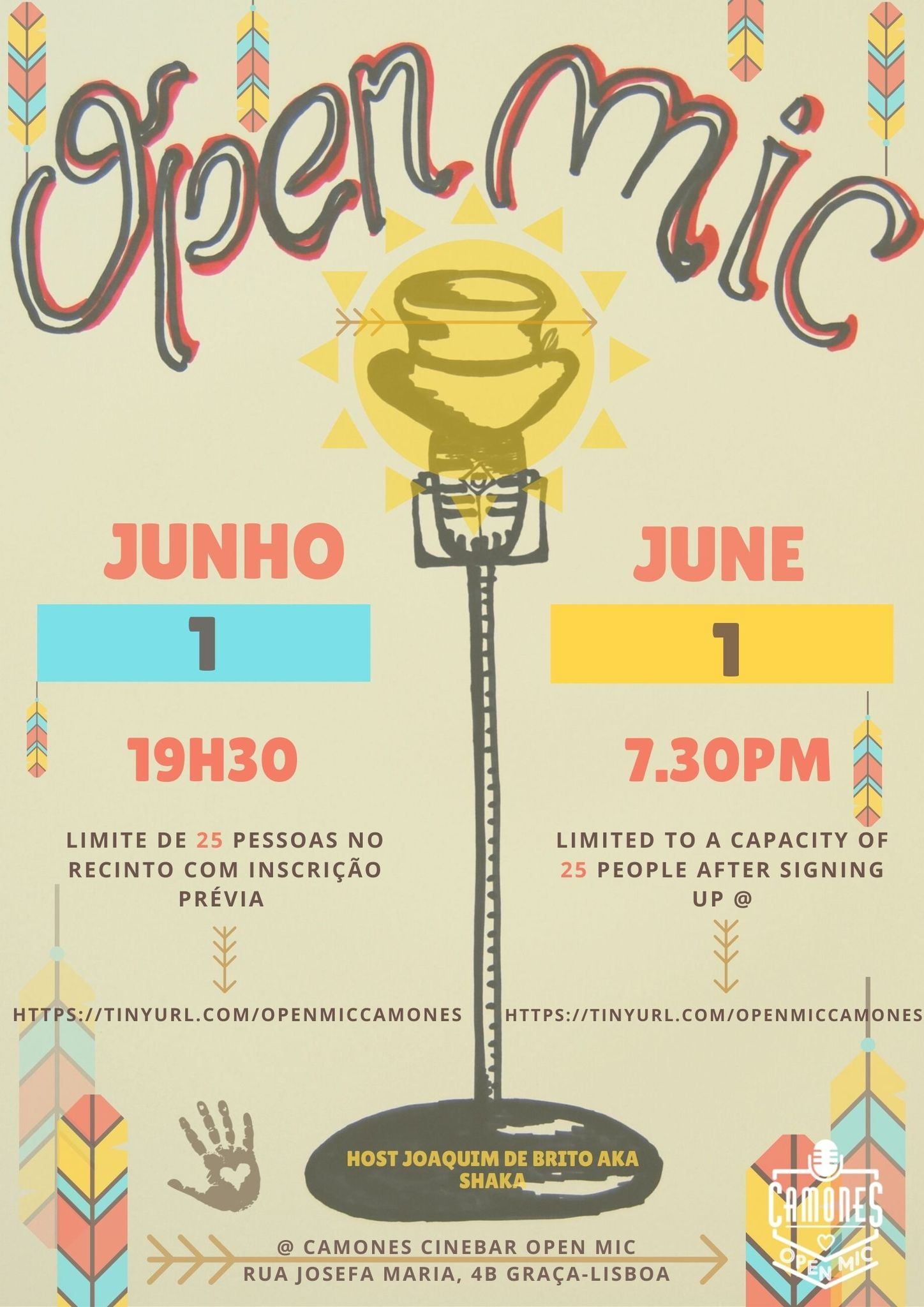 Open Mic - 69ª edição - All Arts, All Ages