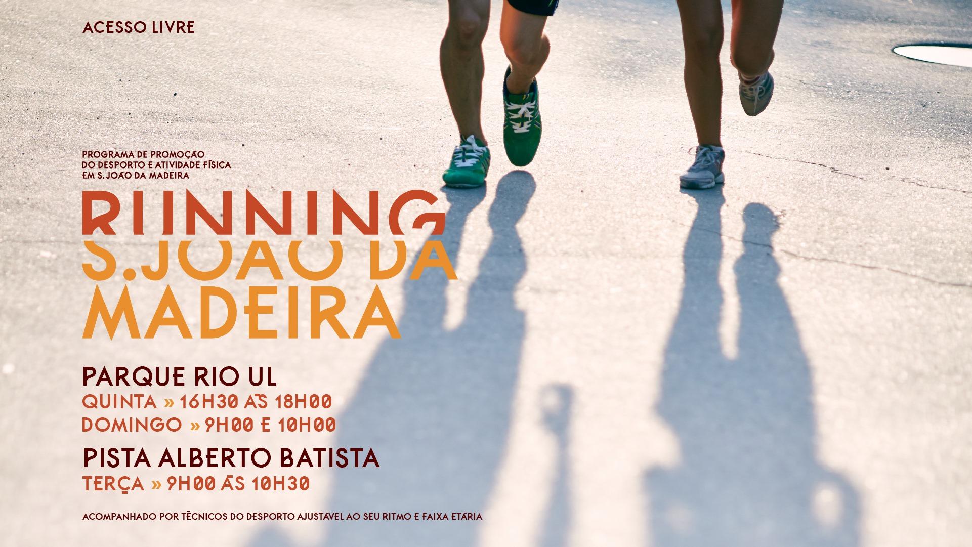 Running S. João da Madeira no Parque do Rio Ul