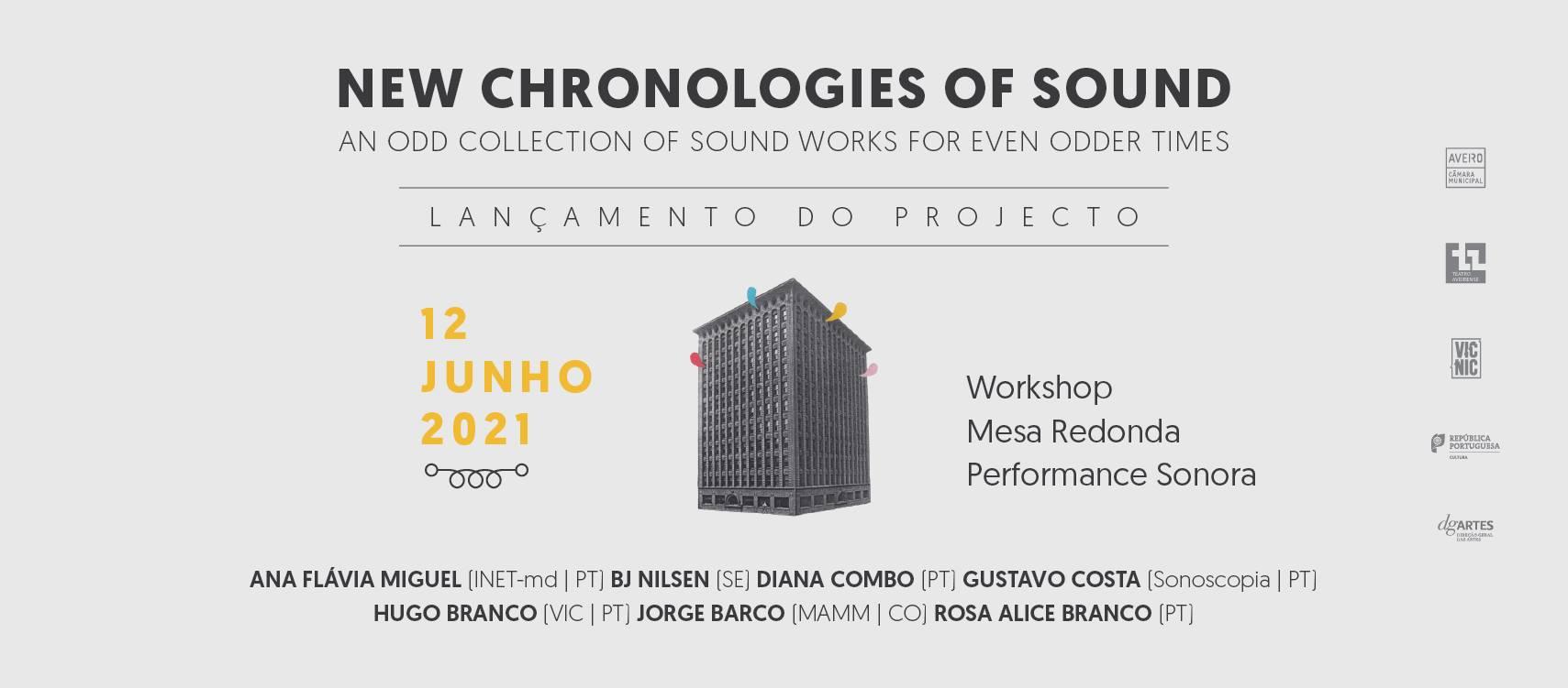 New Chronologies of Sound / Novas Cronologias do Som [lançamento]
