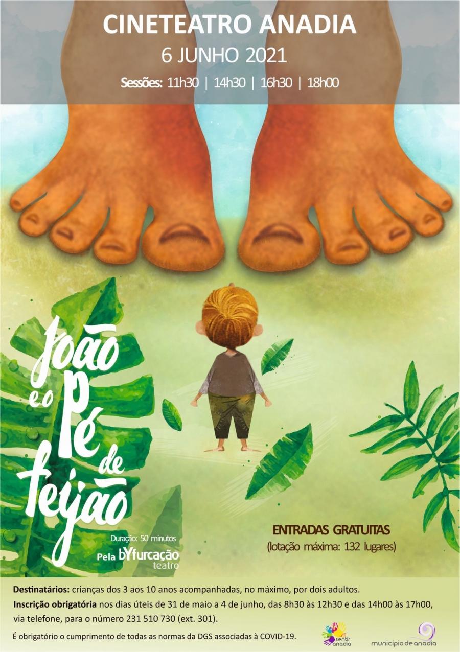 'João Pé de Feijão' - Teatro Infantil