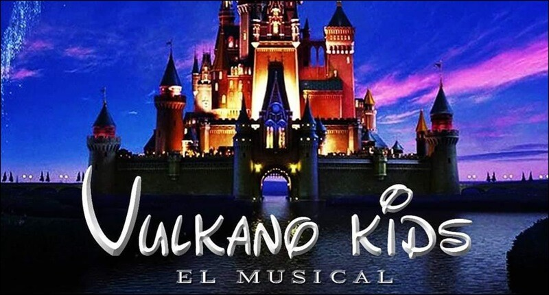 Vulkano Kids, el musical