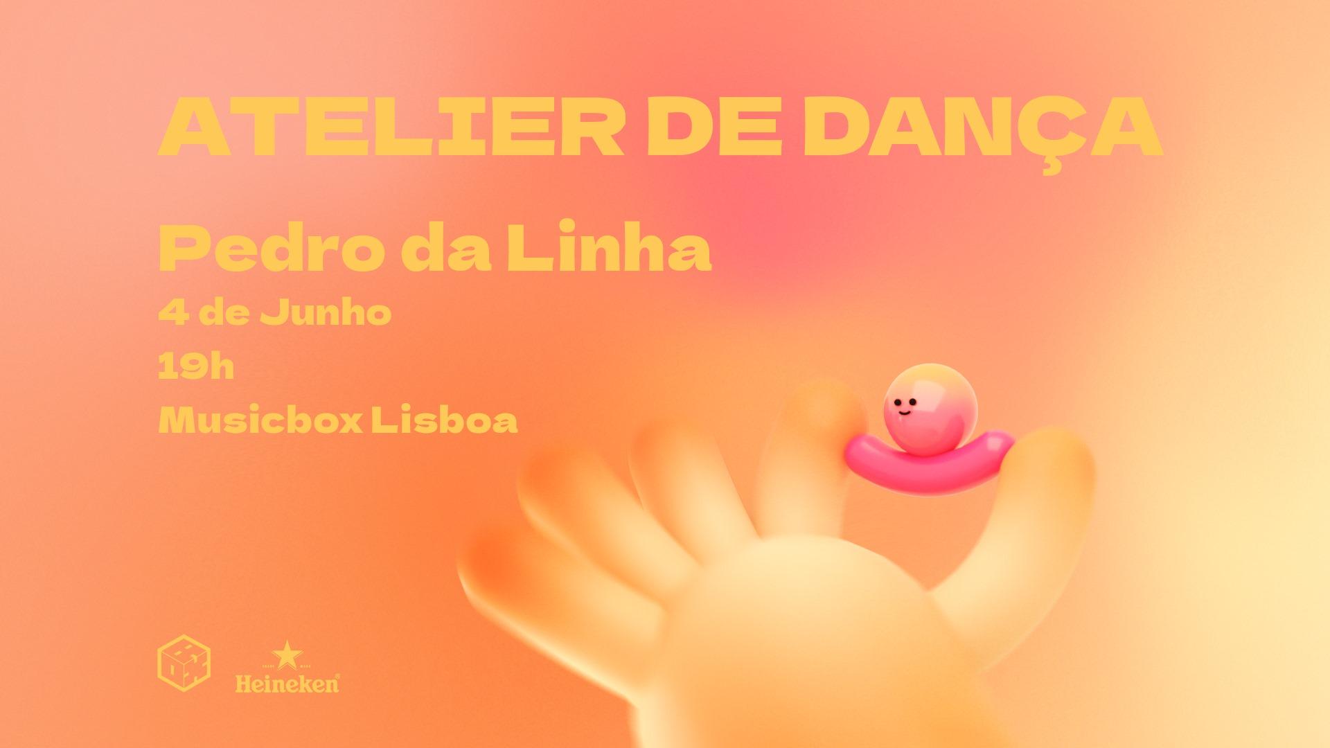 Atelier de dança com Pedro da Linha