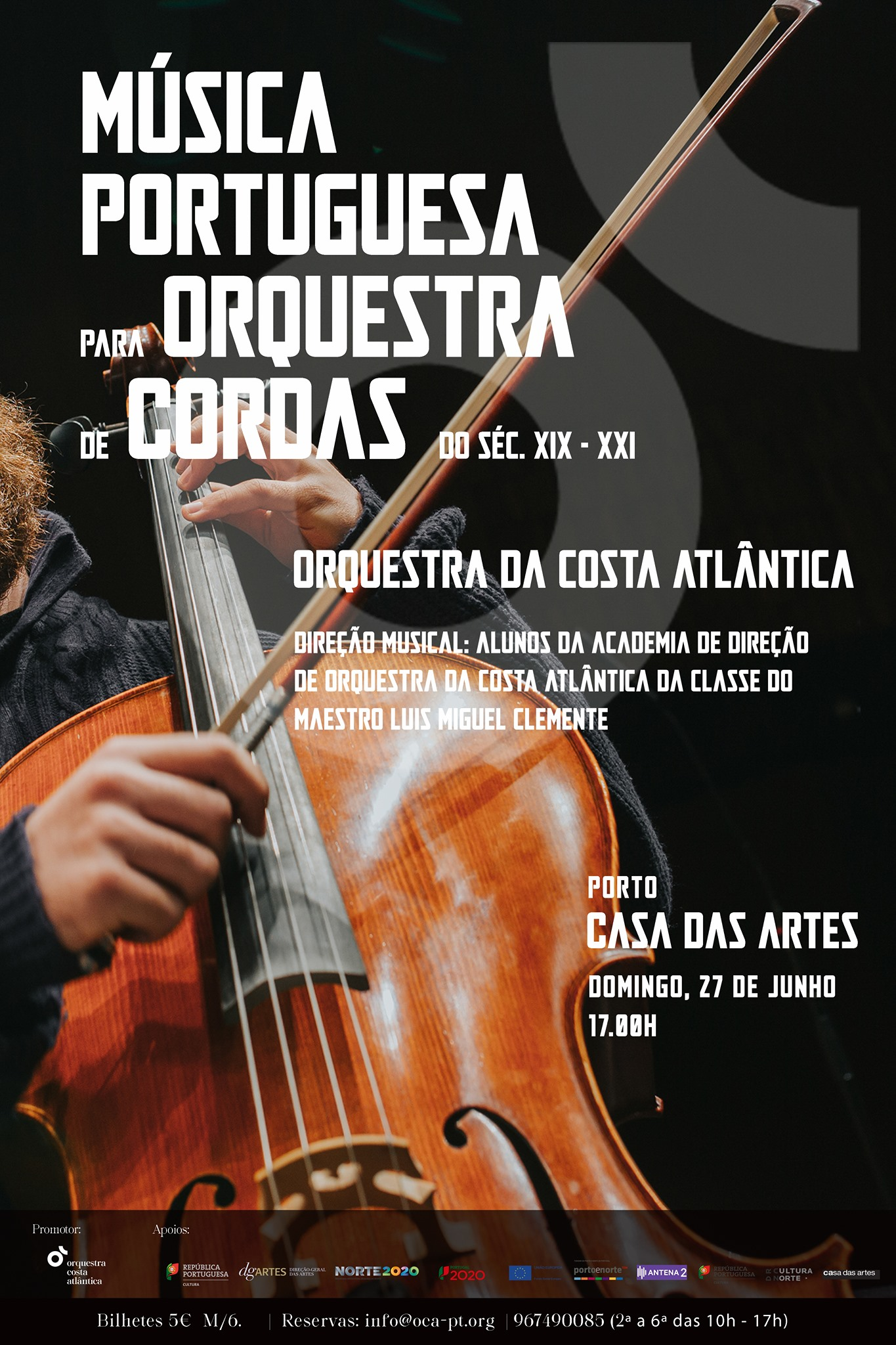 Música Portuguesa para Orquestra de Cordas do séc. XIX-XXI