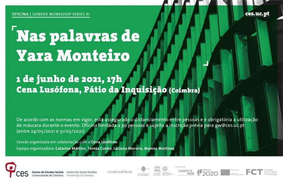 "Oficina ""Nas palavras de Yara Monteiro"""