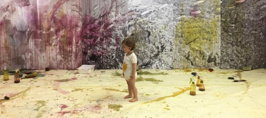 Filho de peixe sabe pintar - Dia Mundial dos Oceanos