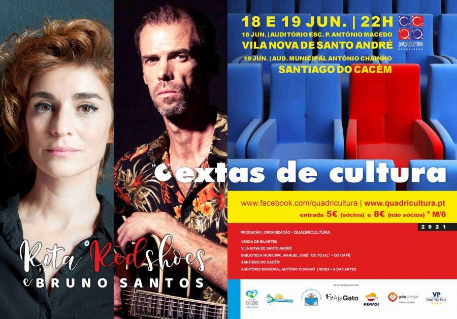 Rita Redshoes e Bruno Santos