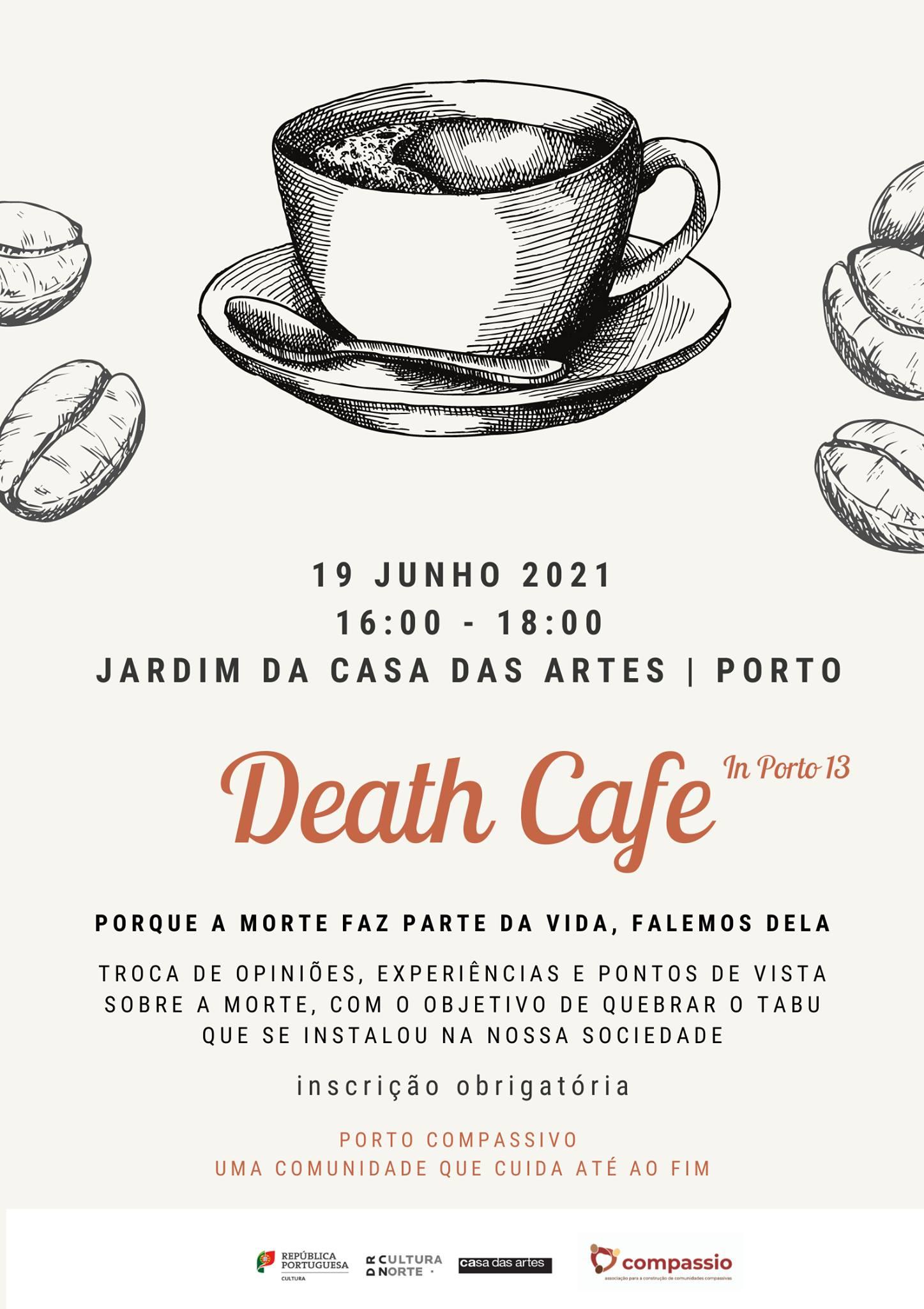 Death Café presencial - Porto