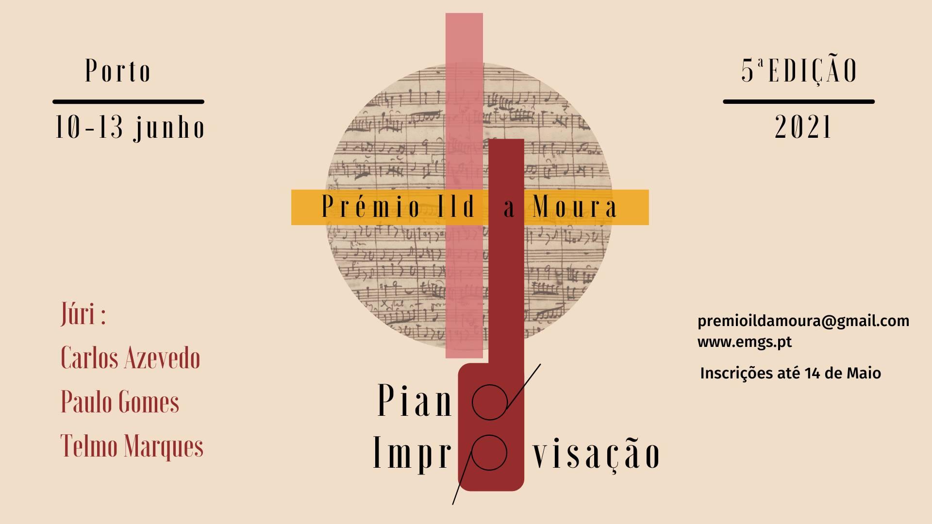 Prémio Ilda Moura | Piano_Improvisação