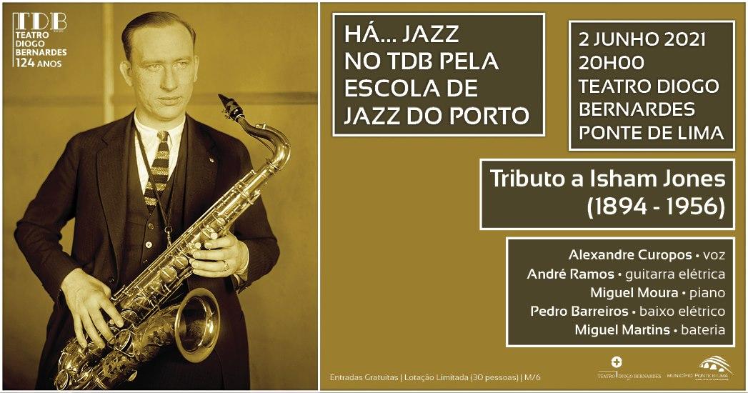Há... Jazz no TDB – Tributo ao compositor Isham Jones