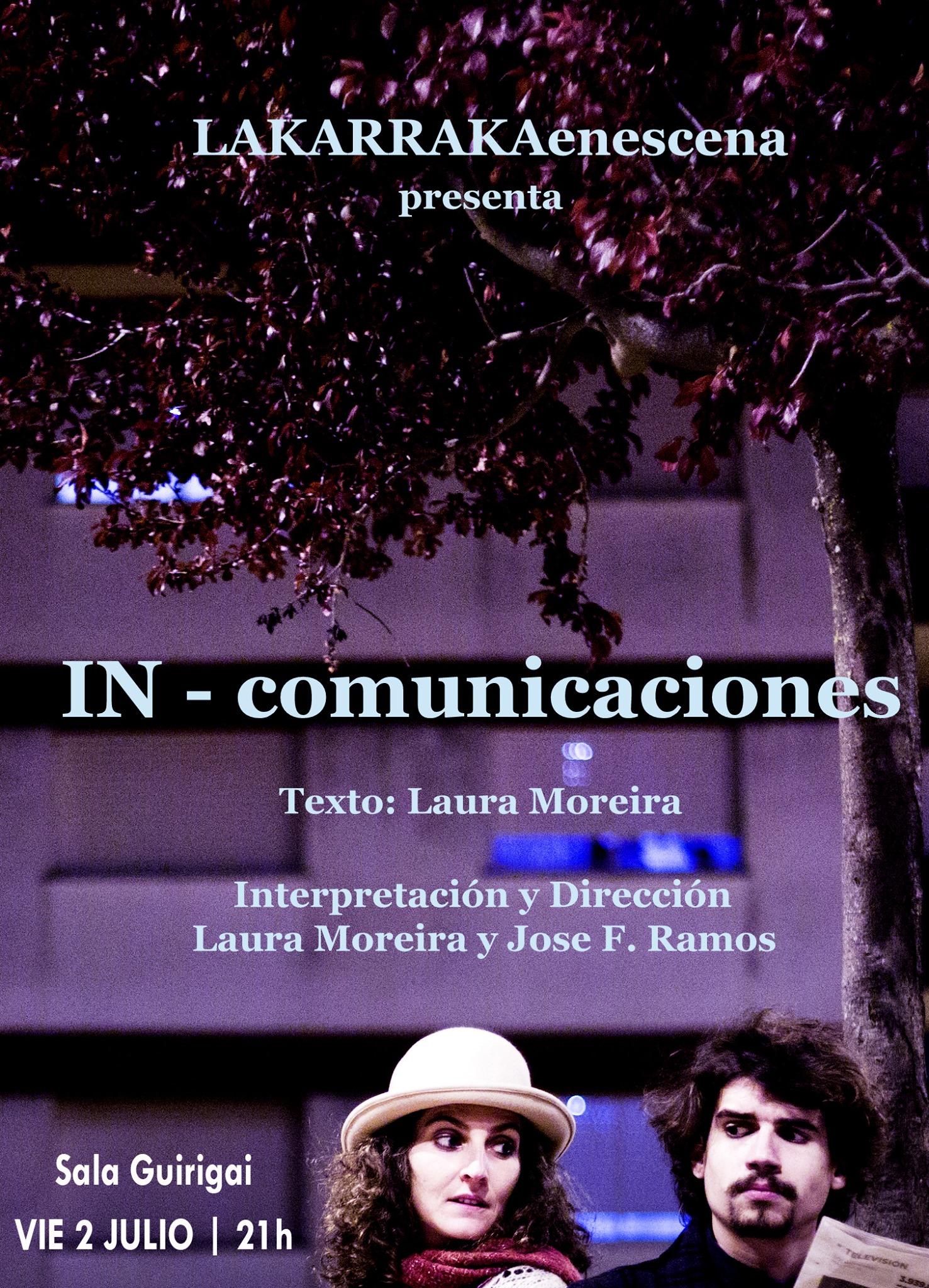 """In-comunicación"", Teatro Contemporáneo"