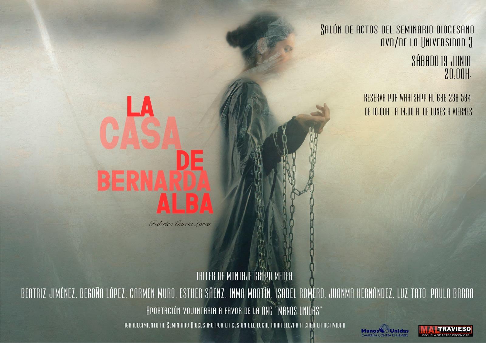 'La Casa de Bernarda Alba' Grupo Medea. Maltravieso Teatro