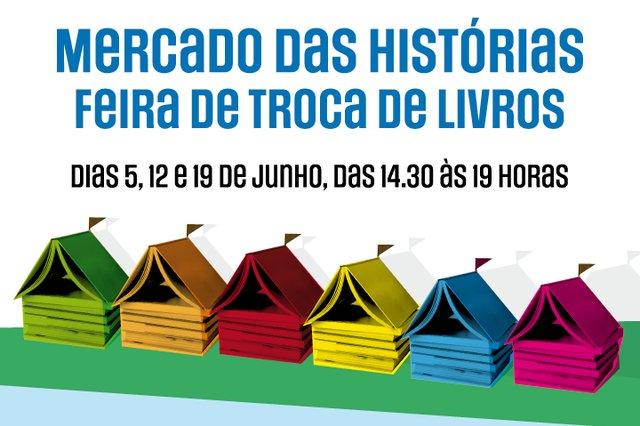 Mercado das Histórias: Feira de Troca de Livros