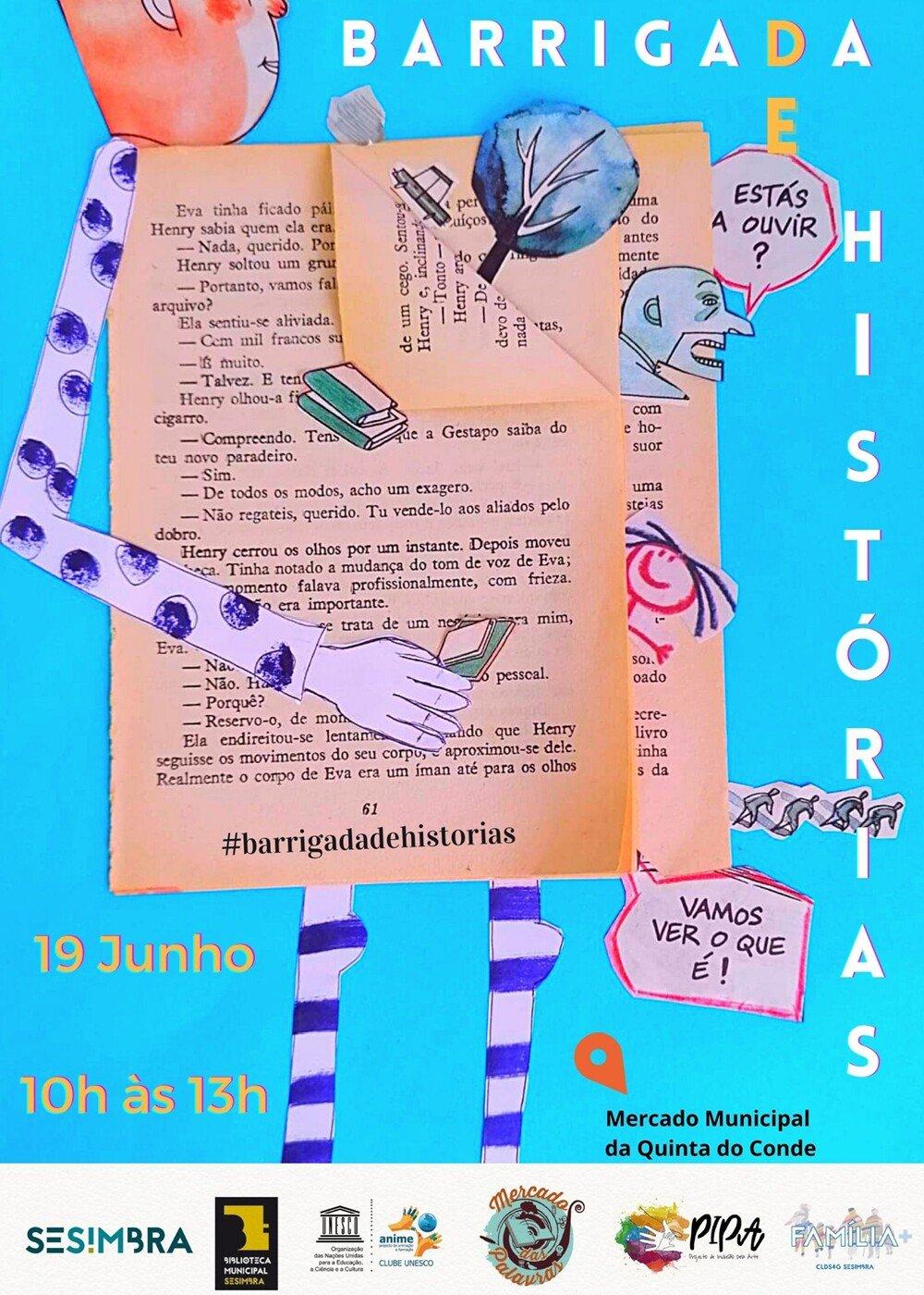 Barrigada de Histórias - AVISO: Procuram-se Contadores de Histórias